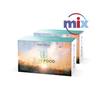 Slim Food Classic Mix 2 x 18 tyčiniek